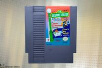 Sesame Street ABC Letter-Go-Round & Ernie's Big Splash [Nintendo NES Game Combo