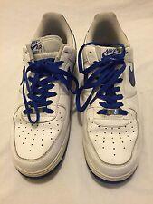 Men's Nike Air Force 1 Low White Blue US Sz 12 EU 46 315122-192