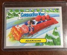 GARBAGE PAIL KIDS - 2014 Yearly Series 1 - SILVER Border #66a Adam Bomb