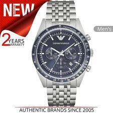 Emporio Armani Sportivo Men's Watch¦Chronograph Dial¦Silver Bracelet Band¦AR6072