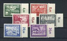 Deutsches Reich Nr.773-778 ** RANDSATZ REIHENZÄHLER ME 60,-++ (121697)