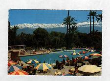 MARRAKECH (MAROC) PISCINE animée de l'HOTEL MAMOUNIA en 1976
