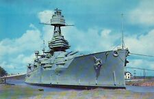 Battleship Texas San Jacinto Battle Grounds Houston Ship  Military Navy Postcard