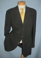 Giorgio Armani Vestimenta SPA suit coat pant heavy wool made in Italy size 40 L