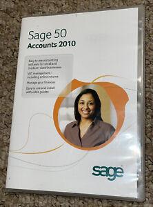 Sage 50 Accounts 2010 - Accounting V16 - CD Software and Activation Key