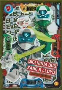 Lego ninjago Series 5 - Next Level - TCG LE12 Digi Ninja Duo Zanè & Lloyd