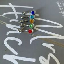 5x 316L Stainless Steel Belly Bar