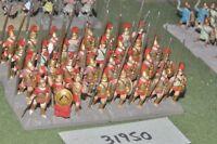 25mm classical / greek - hoplites 32 figures - inf (31950)