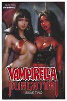 Vampirella vs Purgatori #2 2021 Unread Derrick Chew Main Cover A Dynamite Comic