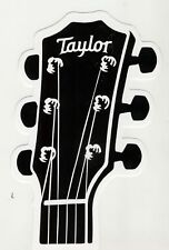 """Lot of 2 - Taylor Guitar """" Headstock """" Stickers / Decals"""