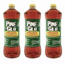 PACK OF 3 Pine Glo Antibacterial Multi Purpose Cleaner Disinfectant Kills 99.9%