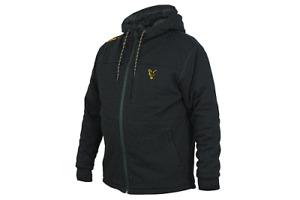 Fox Colección Naranja Negro Sherpa Sudadera/Hoodie