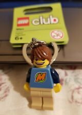 Lego 852856 Lego Club Max Mini Figure Keychain Brand New with Tags