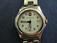 #386 VICTORINOX ladys date quartz watch