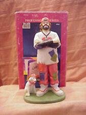 Emmett Kelly Jr = Flambro Figurine - The Coach w/tag and Original Box