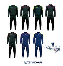 Tuta Givova Revolution Suit Uomo Donna Unisex Zip Running Sport Ginnastica