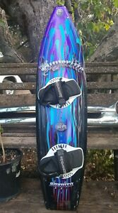 "Hyperlite   Shapiro   Wakeboard   57""  With  Bindings"