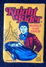1982 Knight Rider Unopened Wax Pack of Trading Cards Donruss Vintage Rare (#52)