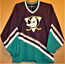 Mighty Ducks Of Anaheim Eggplant Knit Size Xxl Nhl Jersey