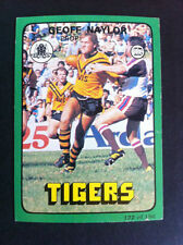 Balmain Tigers Single 1978 Rugby League (NRL) Trading Cards