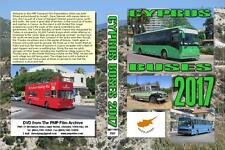 3582. Cyprus. Buses. July 2017. We pick up scenes of buses and coaches around th
