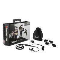 Monster iSport Intensity In-Ear only Headphones - Black - Brand New (Sealed)