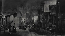 1906 Vintage San Francisco EARTHQUAKE Chinatown By ARNOLD GENTHE Photo Art 11x14