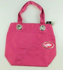 MVF NFL Football Womens Purse Pink Los Angeles Chargers Grommet Tote Bag