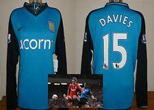 Aston Villa away football shirt BNWT Curtis Davies Derby Hull Birmingham XL Nike