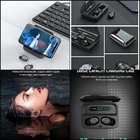 Écouteur Bluetooth sans Fil TWS Etanche IPX7 120H Micro intégré Oreillettes 5.0