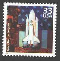 US. 3190 a. 33c. Space Shuttle Program, 1981. Celebrate The Century. MNH. 2000
