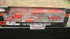 DCP #33361 KW W900 STAND UP SEMI CAB TRUCK &CHROME MAC END DUMP TRAILER 1:64/ FC