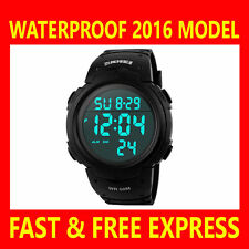 Silicone/Rubber Band Analogue & Digital Unisex Watches