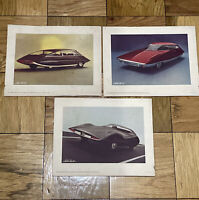 Vintage cars of tomorrow series designed For Du Pont By Strother MacMinn Prints