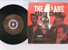 "THE FOUR LADS, STAGE SHOW, WABASH CANNON BALL, RARE 7""x45rpm 1957 EP PIC SLV"