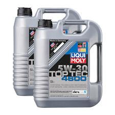 2x LIQUI MOLY 3756 Top Tec 4600 5W-30 Motoröl BMW MB OPEL VW 5L