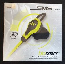SMS Audio Bio Sport Earbuds with heart rate monitor