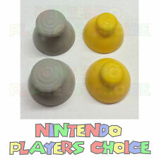GAMECUBE CONTROLLER JOYSTICK CAPS - 2 YELLOW + 2 GRAY REPLACEMENT  US SELLER