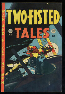 EC Comics Two-Fisted Tales No. 34 Dogfight Cover Jack Davis Wally Wood 1974
