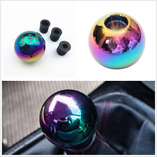 Color Round Ball Aluminum Alloy Manual Transmission Car Gear Knob Lever Shifter
