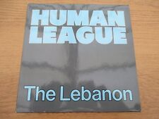 "Human League ‎– The Lebanon     Vinyl 7"" UK 1984 Synth Pop      VIRGIN - VS 672"