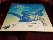 Faure Requiem Pavane Popp Andrew Davis  CBS 35153 LP PROMO! Vg++ ships fast!