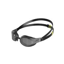Speedo Fastskin Elite Mirror Goggles, Black/Smoke, One Size