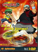 COFFRET 3 DVD BAYBLADE METAL FUSION 3..2..1.HYPER VITESSE VOL 2    ref22041272