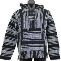 Genuine Mexican Baja Hoodie Surfer Fashion Made in Mexico - Choose size, colour