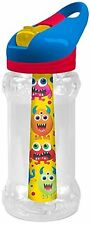 Cool Gear Kids Reusable Drinks Water Sports Bottle Freezer Ice Stick and Straw