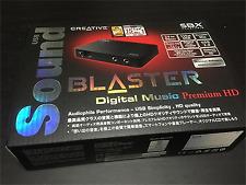 New Creative Labs Sound Blaster X-Fi HD Sound Card USB 2.0 SB-DM-PHD F/S japan