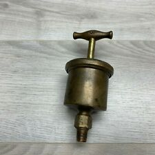 Lunkenheimer Marine No.2 grease cup, lubricator, brass, steam, hit and miss
