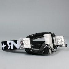 Rip N Roll Híbrido completamente cargado salen de Gafas Motocross Enduro Negro
