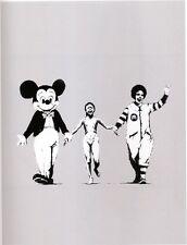Banksy Napalm Ed.300 Firma Impresa Ed.numerado a lapiz Spain